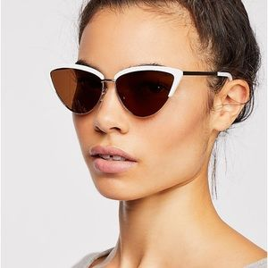 Free People Cat Eyed Sunglasses
